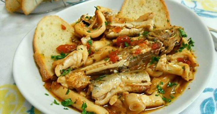 Brodetto di pesce alla romagnola